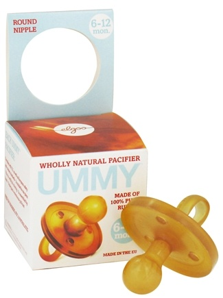 DROPPED: Ummy - Pacifier Round Nipple 6-12 Months