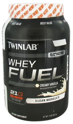 DROPPED: Twinlab - Whey Fuel Creamy Vanilla - 2 lbs. CLEARANCE PRICED
