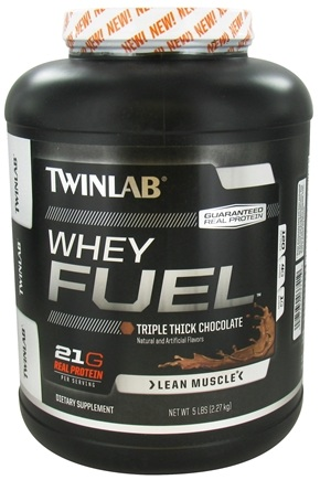 Twinlab - Whey Fuel Triple Thick Chocolate - 5 lbs.