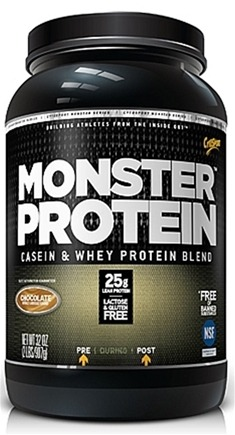 DROPPED: Cytosport - Monster Protein Casein & Whey Blend Chocolate - 2 lbs. CLEARANCE PRICED