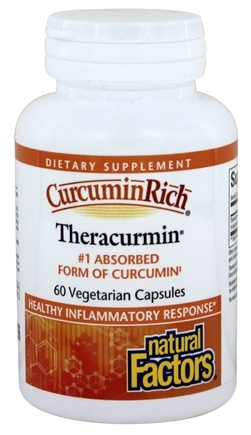 Natural Factors - CurcuminRich Theracurmin 300 mg. - 60 Vegetarian Capsules
