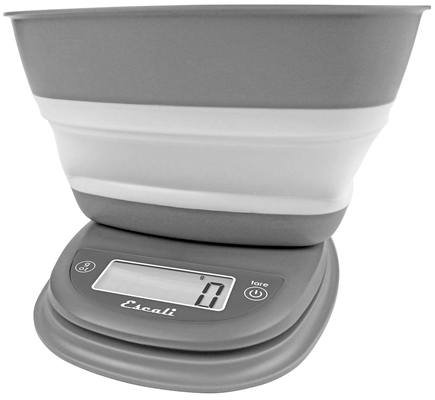Escali - Pop Collapsible Bowl Digital Scale B115 Twilight Gray