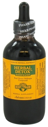 DROPPED: Herb Pharm - Herbal Detox Compound - 4 oz. CLEARANCE PRICED