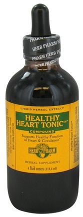 DROPPED: Herb Pharm - Healthy Heart Tonic Compound - 4 oz. CLEARANCE PRICED