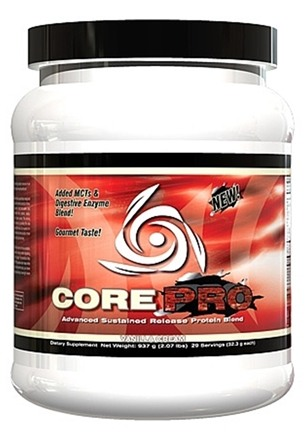 DROPPED: Core Nutritionals - Core PRO Advanced Sustained Release Protein Blend Vanilla Cream 29 Servings - 2.07 lbs. CLEARANCE PRICED