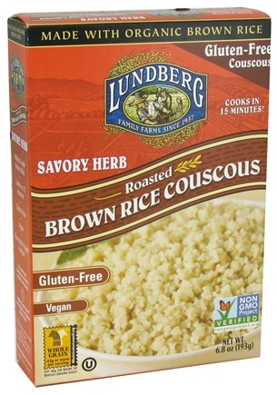 DROPPED: Lundberg - Roasted Brown Rice Couscous Savory Herb - 6.8 oz.