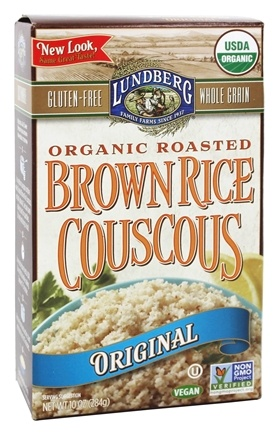 Lundberg - Roasted Brown Rice Couscous Plain Original - 10 oz.