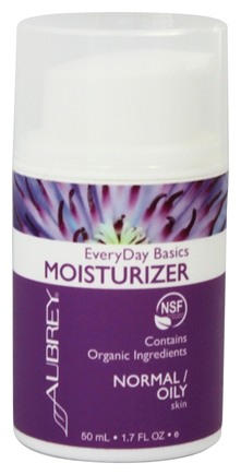 Aubrey Organics - EveryDay Basics Moisturizer For Normal/Oily Skin - 1.7 oz.