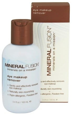 DROPPED: Mineral Fusion - Eye Makeup Remover - 3.4 oz. CLEARANCE PRICED