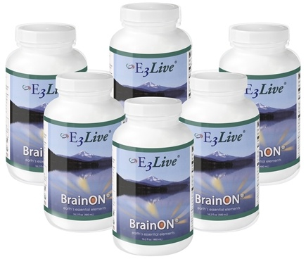 E3Live - BrainON Original - 6 x 16 oz. Bottles
