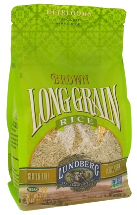 DROPPED: Lundberg - Long Grain Brown Rice - 32 oz.