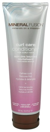 DROPPED: Mineral Fusion - Conditioner Curl Care For Curly Hair - 8.5 oz. CLEARANCE PRICED
