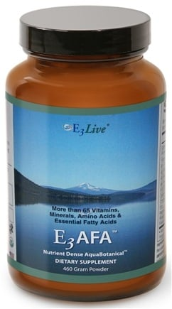 E3Live - E3 AFA Powder - 460 Grams