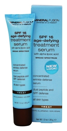 DROPPED: Mineral Fusion - Age-Defying Treatment Serum Broad Spectrum 16 SPF - 1 oz.