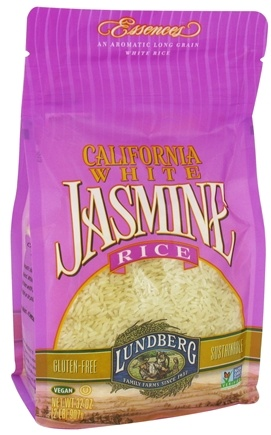 DROPPED: Lundberg - California White Jasmine Rice - 32 oz. CLEARANCE PRICED