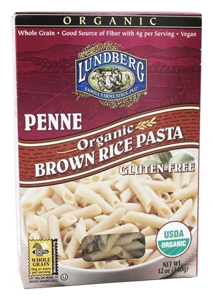 Lundberg - Organic Penne Brown Rice Pasta - 12 oz.