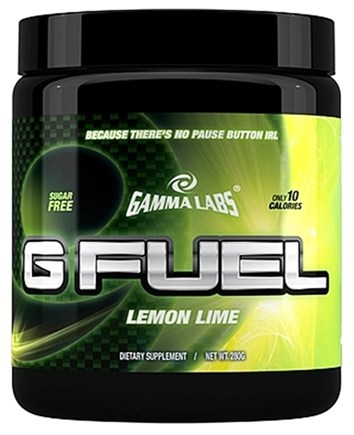 DROPPED: Gamma-Labs - G Fuel Lemon Lime - 280 Grams CLEARANCE PRICED