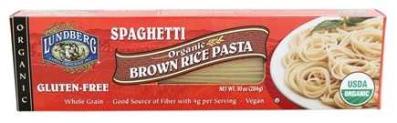 Lundberg - Organic Spaghetti Brown Rice Pasta - 10 oz.
