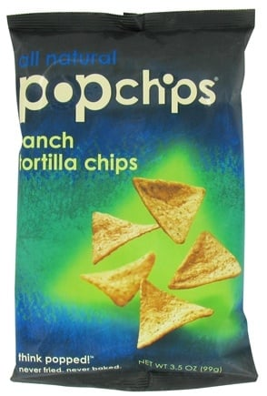 DROPPED: Popchip - Tortilla Chips All Natural Ranch - 3.5 oz.