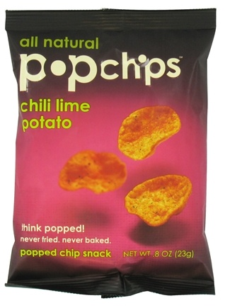 DROPPED: Popchip - Potato Chips All Natural Chili Lime - 0.8 oz.