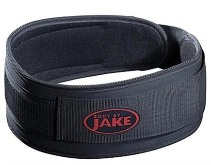 DROPPED: Body By Jake - Padded Lifting Belt Small - CLEARANCE PRICED