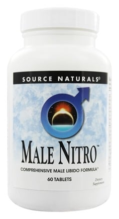 Source Naturals - Male Nitro - 60 Tablets