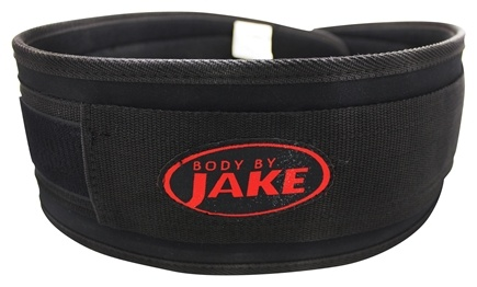 Body By Jake - Padded Lifting Belt Large - CLEARANCE PRICED