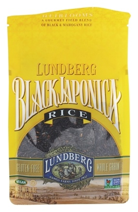Lundberg - Black Japonica Rice - 16 oz.