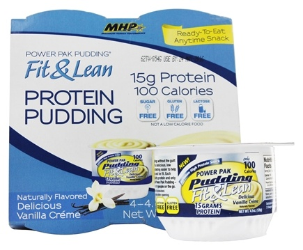 MHP - Fit & Lean Power Pak Pudding 1 Cup Vanilla - 4.5 oz.
