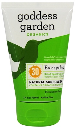 DROPPED: Goddess Garden - Everyday Natural Sunscreen 30 SPF - 3.4 oz. Formerly Goddess Garden - Sunny Body Natural Sunscreen