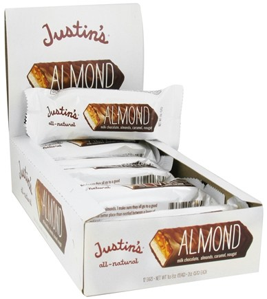 DROPPED: Justin's Nut Butter - Milk Chocolate Candy Bar Almond - 2 oz.