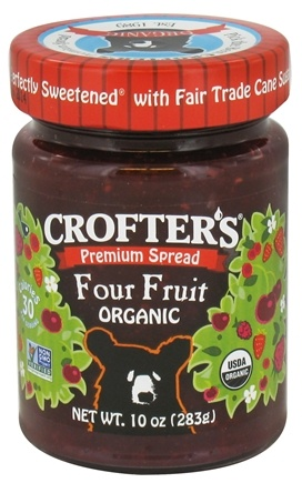 DROPPED: Crofter's Organic - Premium Spread Organic Four Fruit - 10 oz.