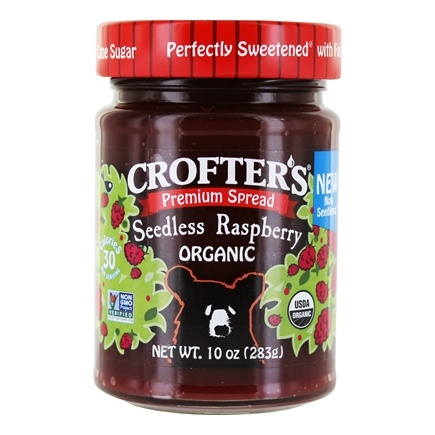DROPPED: Crofter's Organic - Premium Spread Organic Raspberry - 10 oz. CLEARANCE PRICED