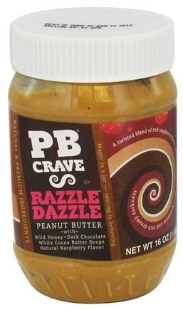 DROPPED: PB Crave - Peanut Butter Razzle Dazzle - 16 oz. CLEARANCE PRICED