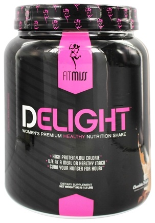 DROPPED: FitMiss - Delight Women's Premium Healthy Nutrition Shake Chocolate Delight - 1.2 lbs.