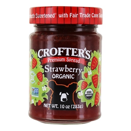 DROPPED: Crofter's Organic - Premium Spread Organic Strawberry - 10 oz. CLEARANCE PRICED