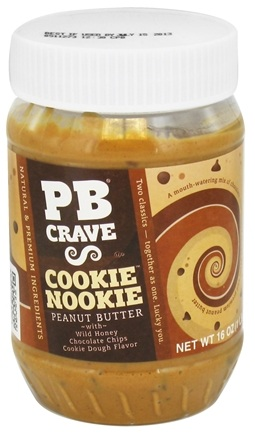 DROPPED: PB Crave - Peanut Butter Cookie Nookie - 16 oz. CLEARANCE PRICED