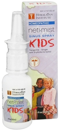 DROPPED: Himalayan Institute - Neti Mist Kids Sinus Spray - 1 oz. CLEARANCE PRICED