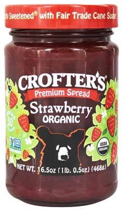 Crofter's Organic - Premium Spread Organic Strawberry - 16.5 oz.