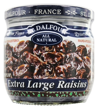 DROPPED: St. Dalfour - Super Plump Extra Large Raisins - 7 oz.