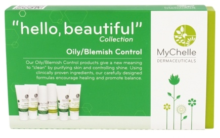 DROPPED: MyChelle Dermaceuticals - Hello Beautiful Trial Set Collection Oily/Blemish Control