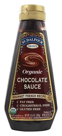 DROPPED: St. Dalfour - Organic Sauce Chocolate - 10.6 oz.