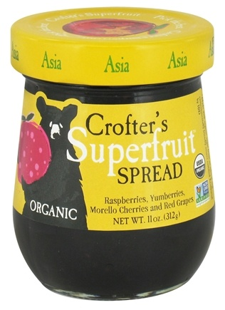 DROPPED: Crofter's Organic - Superfruit Spread Asia - 11 oz.
