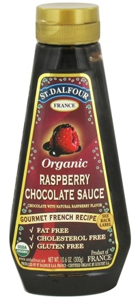 DROPPED: St. Dalfour - Organic Sauce Raspberry Chocolate - 10.6 oz. CLEARANCE PRICED