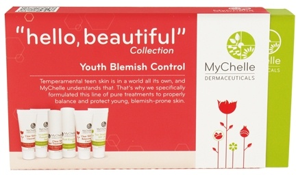 DROPPED: MyChelle Dermaceuticals - Hello Beautiful Trial Set Collection Youth Blemish Control - CLEARANCE PRICED