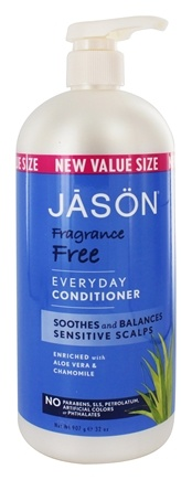 Jason Natural Products - Conditioner Every Day Fragrance Free - 32 oz.
