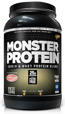DROPPED: Cytosport - Monster Protein Casein & Whey Blend Strawberry - 2 lbs. CLEARANCE PRICED