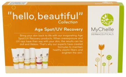 DROPPED: MyChelle Dermaceuticals - Hello Beautiful Trial Set Collection Age Spot/UV Recovery