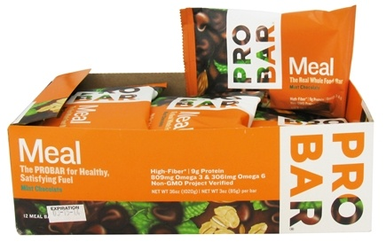 DROPPED: Pro Bar - Whole Food Meal Bar Mint Chocolate - 3 oz.