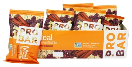 DROPPED: Pro Bar - Whole Food Meal Bar Oatmeal Raisin - 3 oz.